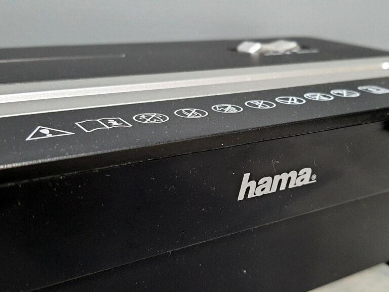 Detailaufnahme des Hama Premium X8CD