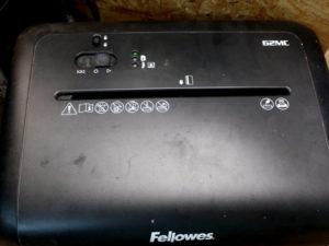 Fellowes 62MC von oben