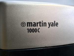 Martin Yale 1000C Beschriftung