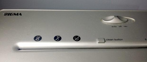 Sigma PSC31 Schredder im, Detail